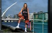 16 September 2020; In attendance at the launch of the four Hula Hoops Senior National Cup draws, Super League and Division One is Pyrobel Killester Basketball Club co-captain Mimi Clarke. For full details on the draw, go to www.basketballireland.ie Photo by Brendan Moran/Sportsfile