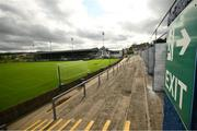 13 September 2020; A general view of Finn Park prior to the SSE Airtricity League Premier Division match between Finn Harps and Derry City at Finn Park in Ballybofey, Donegal. Photo by Stephen McCarthy/Sportsfile