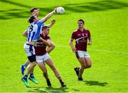 30 August 2020; Michael Darragh Macauley and Donogh McCabe, behind, of Ballyboden St Enda's in action against Brian Fenton and Brian Howard, right, of Raheny during the Dublin County Senior Football Championship Quarter-Final match between Ballyboden St Enda's and Raheny at Parnell Park in Dublin. Photo by Piaras Ó Mídheach/Sportsfile