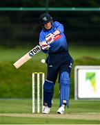 17 September 2020; Kevin O'Brien of Leinster Lightning plays a shot during the Test Triangle Inter-Provincial 50- Over Series 2020 match between Leinster Lightning and Northern Knights at Comber in Down. Photo by Sam Barnes/Sportsfile