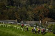 17 September 2020; A general view of the field during the Brownstown Head Handicap Hurdle at Tramore Racecourse in Waterford. Photo by Harry Murphy/Sportsfile