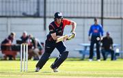 17 September 2020; Shane Getkate of Northern Knights plays a shot during the Test Triangle Inter-Provincial 50- Over Series 2020 match between Leinster Lightning and Northern Knights at Comber in Down. Photo by Sam Barnes/Sportsfile