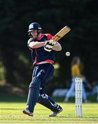 17 September 2020; Shane Getkate of Northern plays a shot during the Test Triangle Inter-Provincial 50- Over Series 2020 match between Leinster Lightning and Northern Knights at Comber in Down. Photo by Sam Barnes/Sportsfile