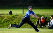 17 September 2020; Greg Ford of Leinster Lightning drops a catch during the Test Triangle Inter-Provincial 50- Over Series 2020 match between Leinster Lightning and Northern Knights at Comber in Down. Photo by Sam Barnes/Sportsfile