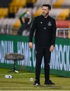 17 September 2020; Shamrock Rovers manager Stephen Bradley during the UEFA Europa League Second Qualifying Round match between Shamrock Rovers and AC Milan at Tallaght Stadium in Dublin. Photo by Stephen McCarthy/Sportsfile