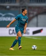 17 September 2020; Zlatan Ibrahimovic of AC Milan during the UEFA Europa League Second Qualifying Round match between Shamrock Rovers and AC Milan at Tallaght Stadium in Dublin. Photo by Seb Daly/Sportsfile