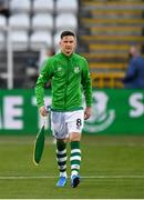 17 September 2020; Shamrock Rovers captain Ronan Finn prior to the UEFA Europa League Second Qualifying Round match between Shamrock Rovers and AC Milan at Tallaght Stadium in Dublin. Photo by Seb Daly/Sportsfile