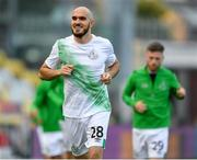 17 September 2020; Joey O'Brien of Shamrock Rovers during the UEFA Europa League Second Qualifying Round match between Shamrock Rovers and AC Milan at Tallaght Stadium in Dublin. Photo by Seb Daly/Sportsfile