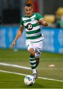 17 September 2020; Graham Burke of Shamrock Rovers during the UEFA Europa League Second Qualifying Round match between Shamrock Rovers and AC Milan at Tallaght Stadium in Dublin. Photo by Stephen McCarthy/Sportsfile