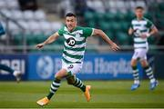 17 September 2020; Aaron Greene of Shamrock Rovers during the UEFA Europa League Second Qualifying Round match between Shamrock Rovers and AC Milan at Tallaght Stadium in Dublin. Photo by Stephen McCarthy/Sportsfile