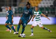 17 September 2020; Franck Kessie of AC Milan during the UEFA Europa League Second Qualifying Round match between Shamrock Rovers and AC Milan at Tallaght Stadium in Dublin. Photo by Stephen McCarthy/Sportsfile