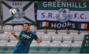 17 September 2020; Zlatan Ibrahimovic of AC Milan during the UEFA Europa League Second Qualifying Round match between Shamrock Rovers and AC Milan at Tallaght Stadium in Dublin. Photo by Stephen McCarthy/Sportsfile