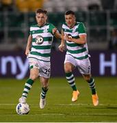17 September 2020; Jack Byrne of Shamrock Rovers during the UEFA Europa League Second Qualifying Round match between Shamrock Rovers and AC Milan at Tallaght Stadium in Dublin. Photo by Stephen McCarthy/Sportsfile