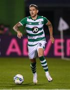 17 September 2020; Lee Grace of Shamrock Rovers during the UEFA Europa League Second Qualifying Round match between Shamrock Rovers and AC Milan at Tallaght Stadium in Dublin. Photo by Stephen McCarthy/Sportsfile