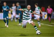 17 September 2020; Joey O'Brien of Shamrock Rovers during the UEFA Europa League Second Qualifying Round match between Shamrock Rovers and AC Milan at Tallaght Stadium in Dublin. Photo by Stephen McCarthy/Sportsfile