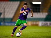 18 September 2020; Kevin Zefi of Shamrock Rovers II during the SSE Airtricity League First Division match between Shamrock Rovers II and Cabinteely at Tallaght Stadium in Dublin. Photo by Harry Murphy/Sportsfile