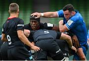 19 September 2020; Maro Itoje of Saracens and James Ryan of Leinster during the Heineken Champions Cup Quarter-Final match between Leinster and Saracens at the Aviva Stadium in Dublin. Photo by Ramsey Cardy/Sportsfile