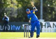 19 September 2020; Gary McClintock of Donemana plays a shot during the All-Ireland T20 Cup Final match between YMCA and Donemana at CIYMS Cricket Club in Belfast. Photo by Sam Barnes/Sportsfile