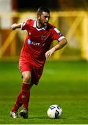 19 September 2020; Ryan Brennan of Shelbourne during the SSE Airtricity League Premier Division match between Shelbourne and Finn Harps at Tolka Park in Dublin. Photo by Eóin Noonan/Sportsfile