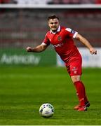 19 September 2020; Georgie Poynton of Shelbourne during the SSE Airtricity League Premier Division match between Shelbourne and Finn Harps at Tolka Park in Dublin. Photo by Eóin Noonan/Sportsfile