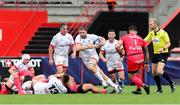 20 September 2020; Iain Henderson of Ulster during the Heineken Champions Cup Quarter-Final match between Toulouse and Ulster at Stade Ernest Wallon in Toulouse, France. Photo by Manuel Blondeau/Sportsfile