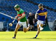 20 September 2020; Noel McGrath of Loughmore-Castleiney in action against Willie Connors of Kiladangan during the Tipperary County Senior Hurling Championship Final match between Kiladangan and Loughmore-Castleiney at Semple Stadium in Thurles, Tipperary. Photo by Ray McManus/Sportsfile