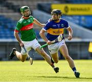 20 September 2020; Alan Flynn of Kiladangan in action against Ciaran McGrath of Loughmore-Castleiney during the Tipperary County Senior Hurling Championship Final match between Kiladangan and Loughmore-Castleiney at Semple Stadium in Thurles, Tipperary. Photo by Ray McManus/Sportsfile