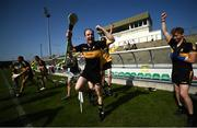 20 September 2020; Kevin Landers of Dr Crokes celebrates at the final whistle following the Kerry County Intermediate Hurling Championship Final match between Dr Crokes and Tralee Parnell's at Austin Stack Park in Tralee, Kerry. Photo by David Fitzgerald/Sportsfile