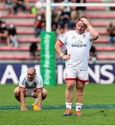20 September 2020; Ross Kane of Ulster dejected following the Heineken Champions Cup Quarter-Final match between Toulouse and Ulster at Stade Ernest Wallon in Toulouse, France. Photo by Manuel Blondeau/Sportsfile
