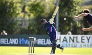 20 September 2020; Simi Singh of YMCA hits a four during the All-Ireland T20 European Cricket League Play-Off match between CIYMS and YMCA at CIYMS Cricket Club in Belfast. Photo by Sam Barnes/Sportsfile