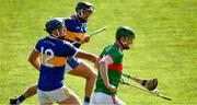 20 September 2020; John Meagher of Loughmore-Castleiney in action against Billy Seymour of Kiladangan during the Tipperary County Senior Hurling Championship Final match between Kiladangan and Loughmore-Castleiney at Semple Stadium in Thurles, Tipperary. Photo by Ray McManus/Sportsfile
