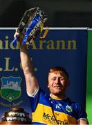 20 September 2020; Kiladangan captain Paul Flynn lifts the Dan Breen Cup after the Tipperary County Senior Hurling Championship Final match between Kiladangan and Loughmore-Castleiney at Semple Stadium in Thurles, Tipperary. Photo by Ray McManus/Sportsfile