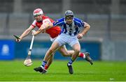 20 September 2020; David O'Connor of Ballyboden St Enda's is tackled by Con O'Callaghan of Cuala during the Dublin County Senior Hurling Championship Final match between Ballyboden St Enda's and Cuala at Parnell Park in Dublin. Photo by Piaras Ó Mídheach/Sportsfile