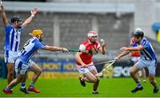 20 September 2020; Con O'Callaghan of Cuala in action against Stephen O'Connor and David O'Connor, right, of Ballyboden St Enda's during the Dublin County Senior Hurling Championship Final match between Ballyboden St Enda's and Cuala at Parnell Park in Dublin. Photo by Piaras Ó Mídheach/Sportsfile