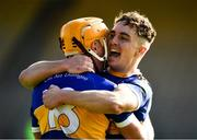 20 September 2020; Andy Loughnane of Kiladangan and goalscorer Bryan McLoughney, right, celebrate after the Tipperary County Senior Hurling Championship Final match between Kiladangan and Loughmore-Castleiney at Semple Stadium in Thurles, Tipperary. Photo by Ray McManus/Sportsfile