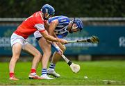 20 September 2020; Conal Keaney of Ballyboden St Enda's in action against John Sheanon of Cuala during the Dublin County Senior Hurling Championship Final match between Ballyboden St Enda's and Cuala at Parnell Park in Dublin. Photo by Piaras Ó Mídheach/Sportsfile