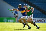 20 September 2020; Alan Flynn of Kiladangan in action against Brian McGrath of Loughmore-Castleiney during the Tipperary County Senior Hurling Championship Final match between Kiladangan and Loughmore-Castleiney at Semple Stadium in Thurles, Tipperary. Photo by Ray McManus/Sportsfile