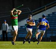20 September 2020; Goalscorer Bryan McLoughney of Kiladangan and his team mate Billy Seymour ,12, celebrate the last minute goal during the Tipperary County Senior Hurling Championship Final match between Kiladangan and Loughmore-Castleiney at Semple Stadium in Thurles, Tipperary. Photo by Ray McManus/Sportsfile