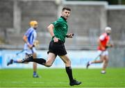 20 September 2020; Referee Seán Stack during the Dublin County Senior Hurling Championship Final match between Ballyboden St Enda's and Cuala at Parnell Park in Dublin. Photo by Piaras Ó Mídheach/Sportsfile