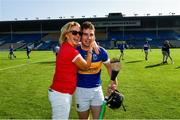 20 September 2020; Goalscorer Bryan McLoughney of Kiladangan is congratulated after the Tipperary County Senior Hurling Championship Final match between Kiladangan and Loughmore-Castleiney at Semple Stadium in Thurles, Tipperary. Photo by Ray McManus/Sportsfile