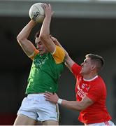 20 September 2020; Paul Donaghy of Dungannon Thomas Clarkes in action against Daire Gallagher of Trillick St. Macartan's during the Tyrone County Senior Football Championship Final match between Trillick St. Macartan's and Dungannon Thomas Clarkes at Healy Park in Omagh, Tyrone. Photo by Ramsey Cardy/Sportsfile