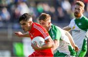 20 September 2020; Eoin Darcy of Tinahely in action against Cian Lee of Baltinglass during the Wicklow County Senior Football Championship Final match between Tinahely and Baltinglass at Joule Park in Aughrim, Wicklow. Photo by Matt Browne/Sportsfile
