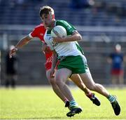 20 September 2020; Adam McHugh of Baltinglass in action against Bradley Hickey of Tinahely during the Wicklow County Senior Football Championship Final match between Tinahely and Baltinglass at Joule Park in Aughrim, Wicklow. Photo by Matt Browne/Sportsfile