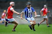 20 September 2020; Shane Durkin of Ballyboden St Enda's in action against Con O'Callaghan of Cuala during the Dublin County Senior Hurling Championship Final match between Ballyboden St Enda's and Cuala at Parnell Park in Dublin. Photo by Piaras Ó Mídheach/Sportsfile
