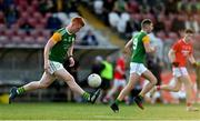 20 September 2020; Matthew Walsh of Dungannon Thomas Clarkes during the Tyrone County Senior Football Championship Final match between Trillick St. Macartan's and Dungannon Thomas Clarkes at Healy Park in Omagh, Tyrone. Photo by Ramsey Cardy/Sportsfile
