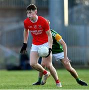 20 September 2020; Ciaran Daly of Trillick St. Macartan's during the Tyrone County Senior Football Championship Final match between Trillick St. Macartan's and Dungannon Thomas Clarkes at Healy Park in Omagh, Tyrone. Photo by Ramsey Cardy/Sportsfile