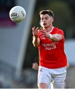 20 September 2020; Richard Donnelly of Trillick St. Macartan's during the Tyrone County Senior Football Championship Final match between Trillick St. Macartan's and Dungannon Thomas Clarkes at Healy Park in Omagh, Tyrone. Photo by Ramsey Cardy/Sportsfile