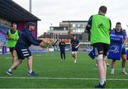 22 September 2020; Elite player devlopment officer Denis Leamy during a Leinster Rugby Academy training session at Energia Park in Dublin. Photo by Ramsey Cardy/Sportsfile
