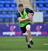 22 September 2020; Sean O'Brien during a Leinster Rugby Academy training session at Energia Park in Dublin. Photo by Ramsey Cardy/Sportsfile