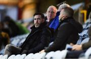 22 September 2020; Shamrock Rovers manager Stephen Bradley in attendance ahead of the SSE Airtricity League First Division match between Drogheda United and Shamrock Rovers II at United Park in Drogheda, Louth. Photo by Ben McShane/Sportsfile